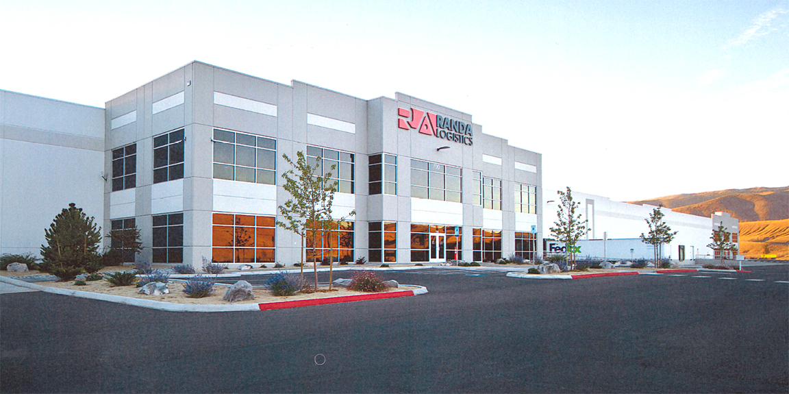 Gateway Commerce Center received a partial property tax incentive for introducing significant energy savings measures. (Photo courtesy of SJS Commercial Real Estate)