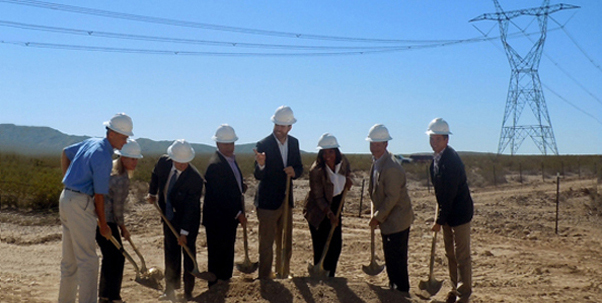 Groundbreaking Ceremony for Silver State Solar South