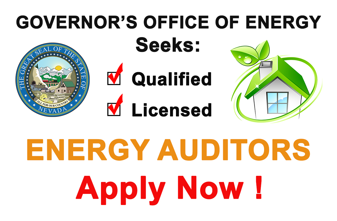 GOE Seeks Qualified, Licensed Energy Auditors