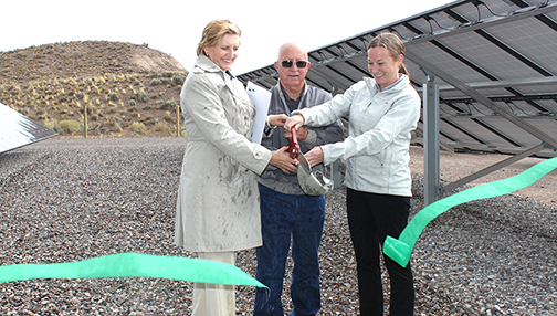 Dedicating Nevada's First Community Solar Project in Panaca