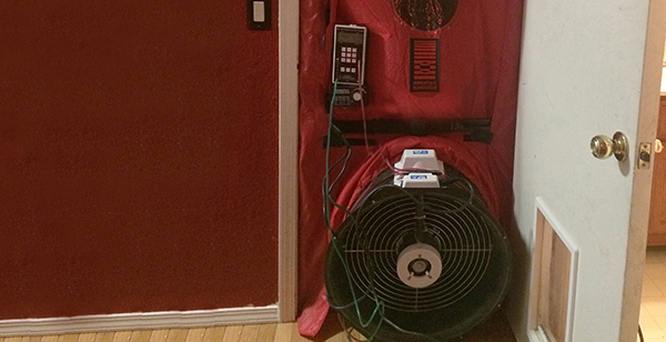 Testing Home Energy Efficiency Using Blower Door