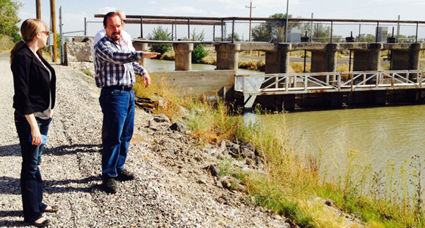 Inspecting Future Truckee-Carson Irrigation District Hydroelectric Sites