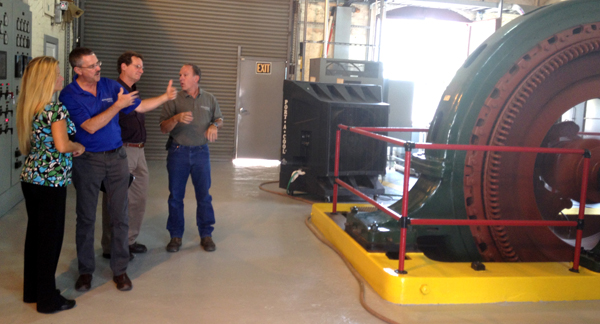 Touring Truckee Meadows Water Authority Hydroelectric Facility