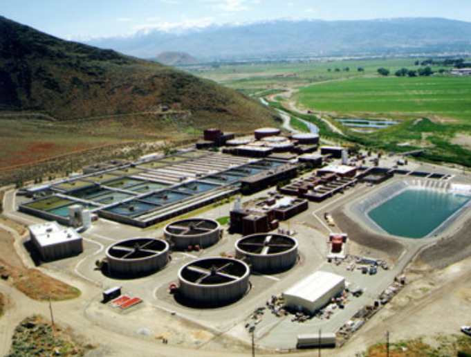 The Cities of Reno and Sparks recently received $150,000 from GOE to cover the cost of a Financial Grade Operational Audit for the Truckee Meadows Water Reclamation Facility, shown here.